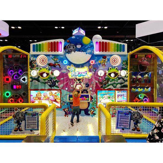 Play Zone Ball Pool Machine - play view