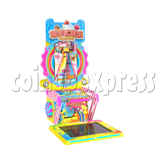 Candy Jump Dancing Machine - left view