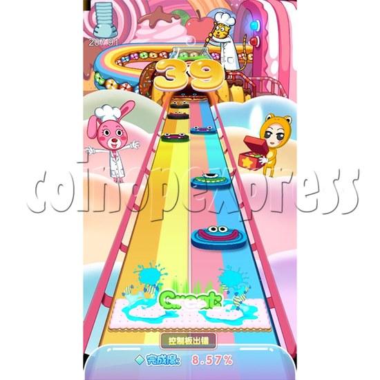 Candy Jump Dancing Machine - dance movement