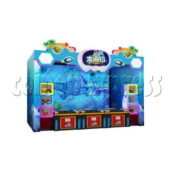 Deep Sea Fshing Machine 6 players - left view