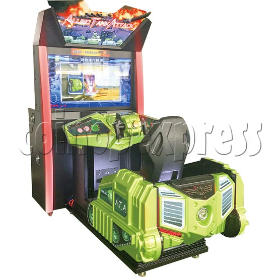 Alled Tank Attack II Driving Game Machines - right view