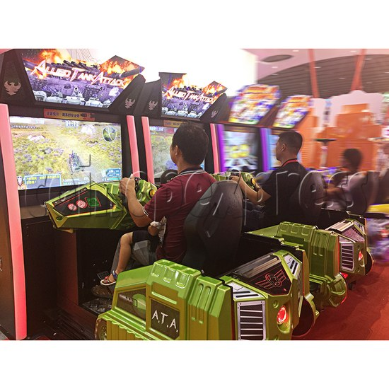 Alled Tank Attack II Driving Game Machines - play view