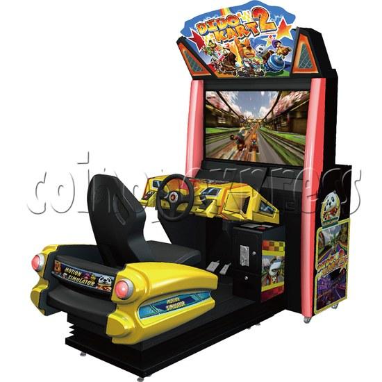 Dido Kart 2 Simulator Video Racing Game Machine - right view