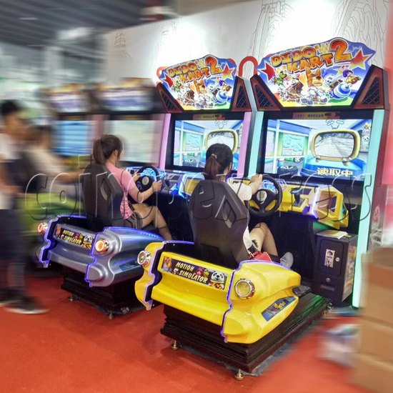 Dido Kart 2 Simulator Video Racing Game Machine - play view