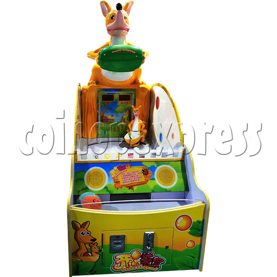 Happy Kangaroo Arcade Ticket Redemption Machine - front view