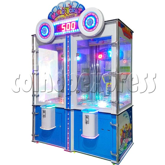 Magic Ticket II Ticket Redemption Machine 2 players - right view