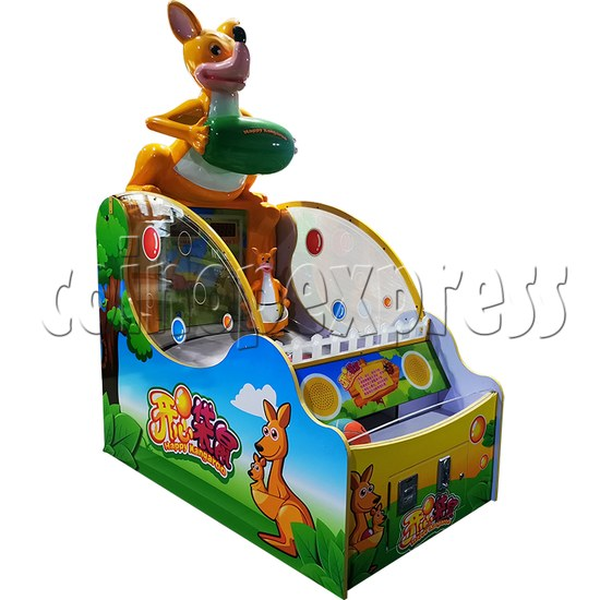 Happy Kangaroo Arcade Ticket Redemption Machine - left view