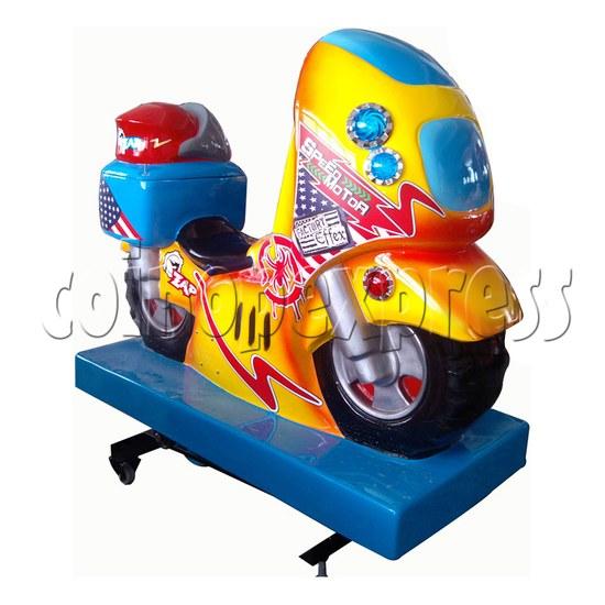 Speed Motor kiddie Ride - left view