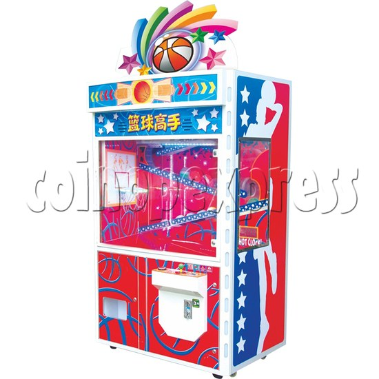 Slam Dunk Prize Machine - right view