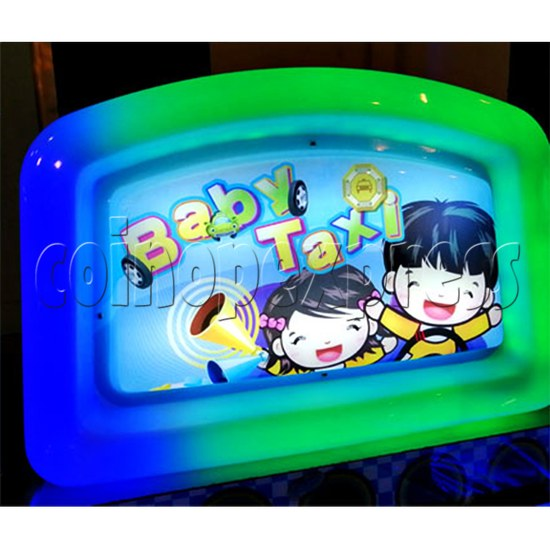 Baby Taxi Ticket Redemption Machine - colorful light box