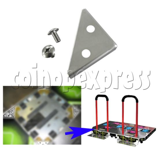 Corner Metals for DDR Floor Arrows - installation instruction