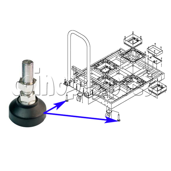 DDR Stage Adjuster - installation diagram