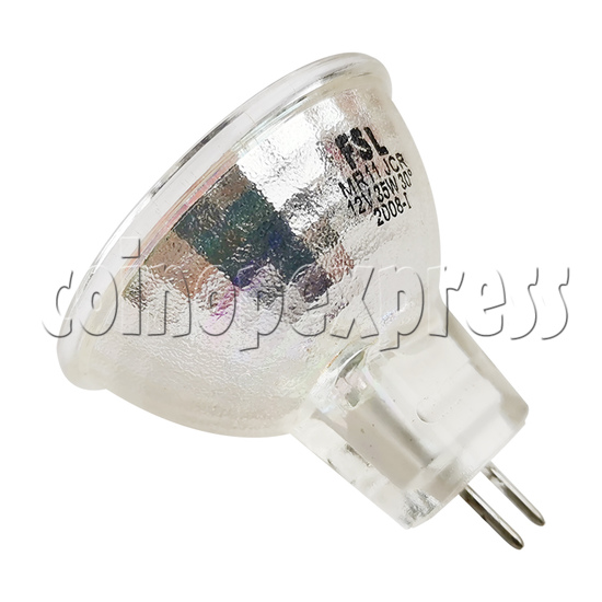 Halogen Lamp With Plug for DDR Machine - back view