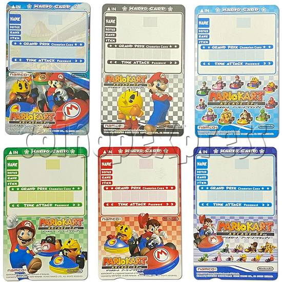Memory Card for Mario Kart Arcade GP - front view