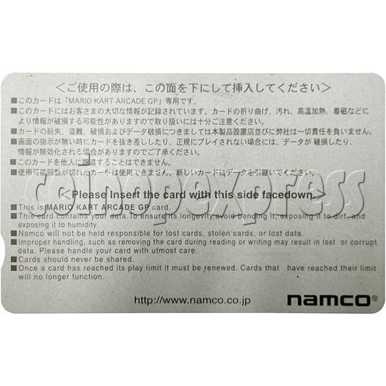 Memory Card for Mario Kart Arcade GP - back view
