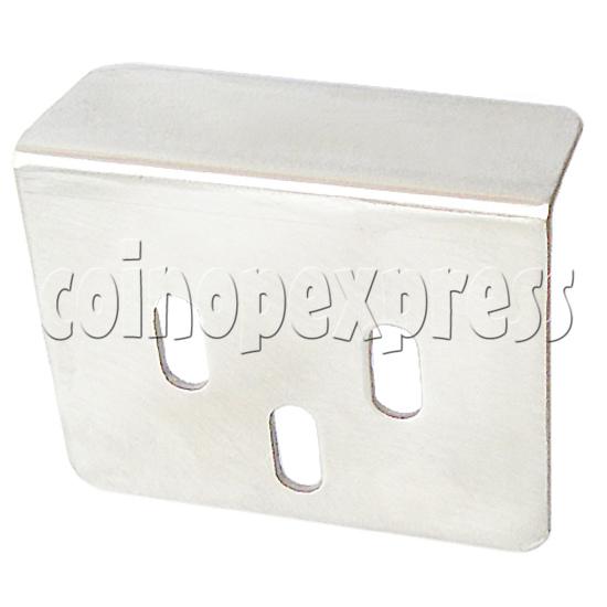 DDR floor sensor metal cover - angle view