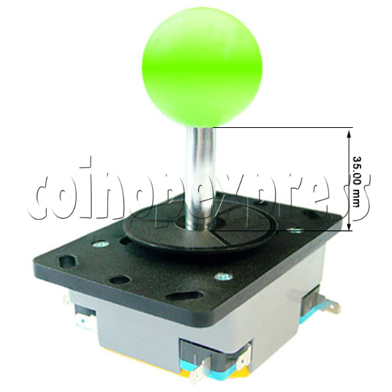 Plastic Construction Joystick - angle view\