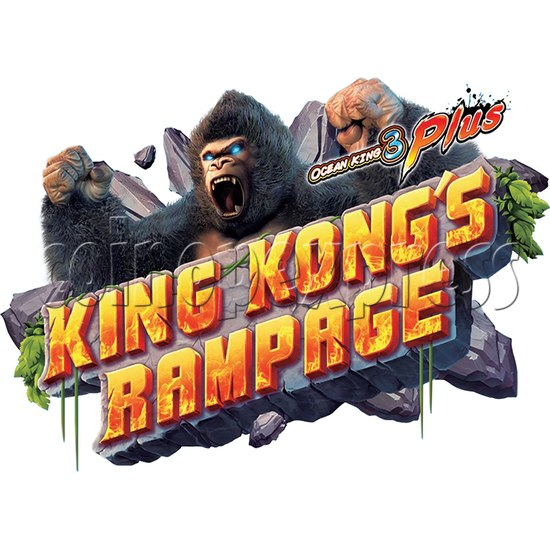 IGS Ocean King 3 Plus: King Kong's Rampage Full Game Board Kit - logo