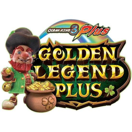 IGS Ocean King 3 Plus: Golden Legend Plus Full Game Board Kit - logo