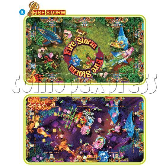 IGS Ocean King 3 Plus: Golden Legend Plus Full Game Board Kit - fire storm