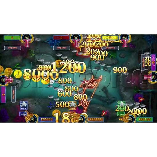 Dragon Palace Fishing Game Full Game Board Kit - screen 3