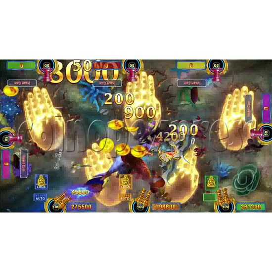 Dragon Palace Fishing Game Full Game Board Kit - screen 11