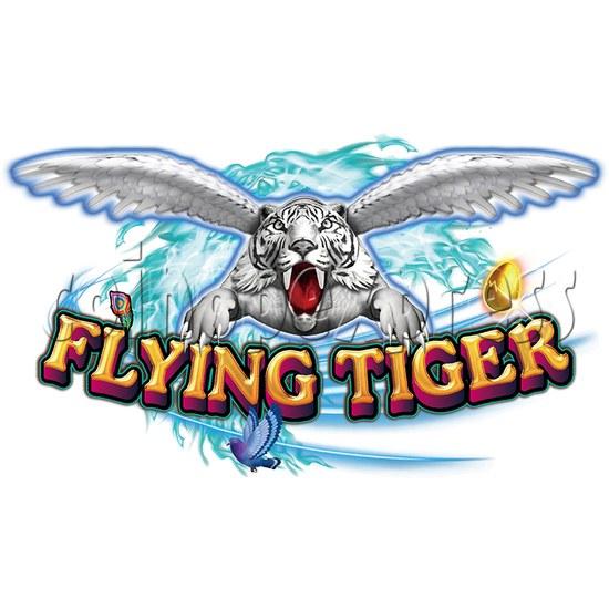 Flying Tiger Birds Hunting Game Full Gameboard Kit - logo
