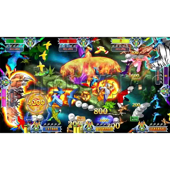 Flying Tiger Birds Hunting Game Full Gameboard Kit - screen 3
