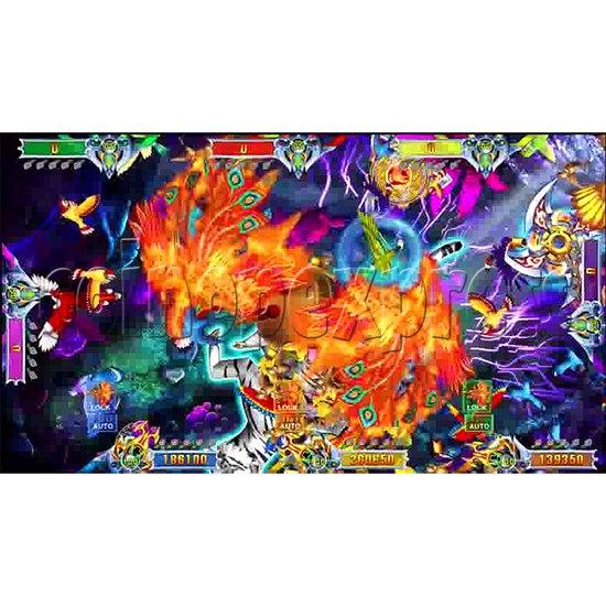 Flying Tiger Birds Hunting Game Full Gameboard Kit - screen 5