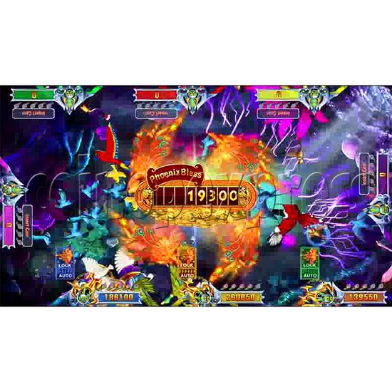 Flying Tiger Birds Hunting Game Full Gameboard Kit - screen 6
