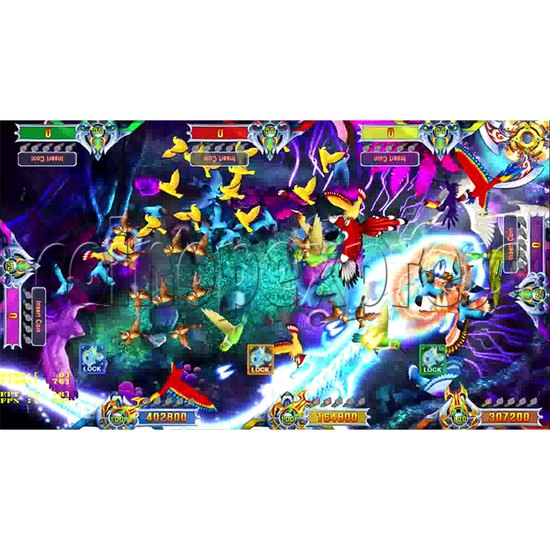 Flying Tiger Birds Hunting Game Full Gameboard Kit - screen 7