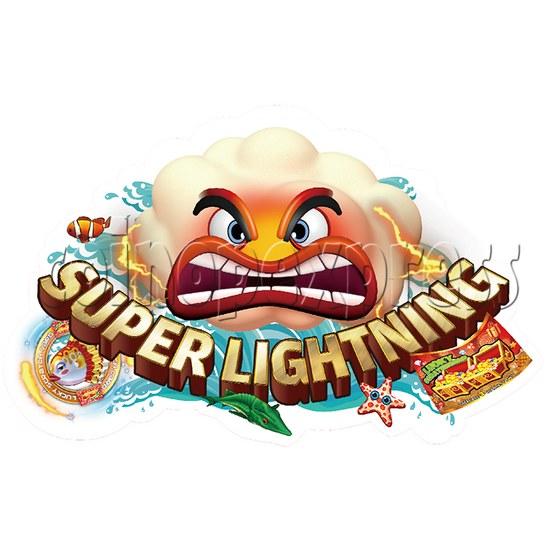 Super Lightning Fishing Game Full Game Board Kit - logo