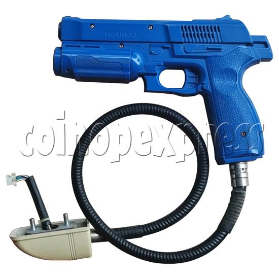 Gun Set for Time Crisis 4 Namco - blue color