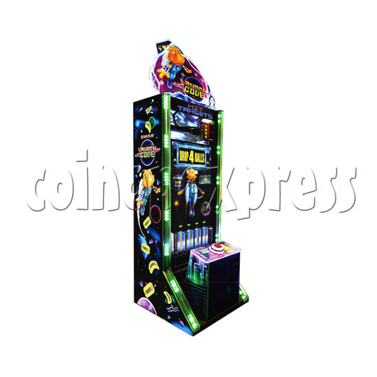 Launch Code Arcade Redemption Machine left view
