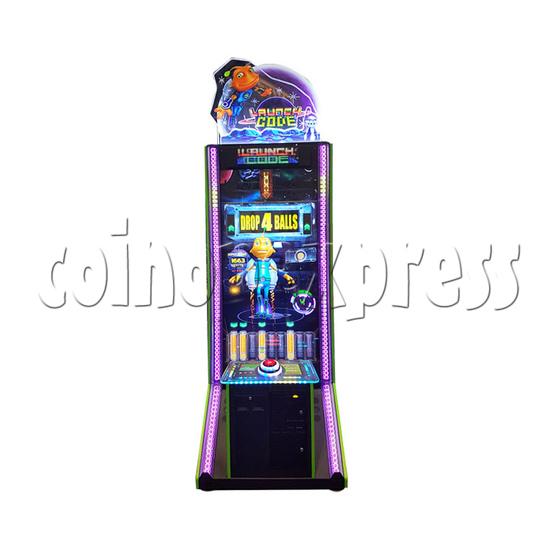 Launch Code Arcade Redemption Machine front view 2