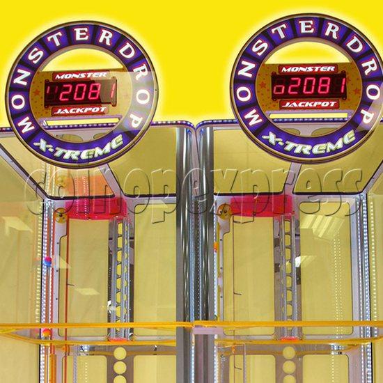 Monster Drop X-treme Ticket Redemption Machine - header