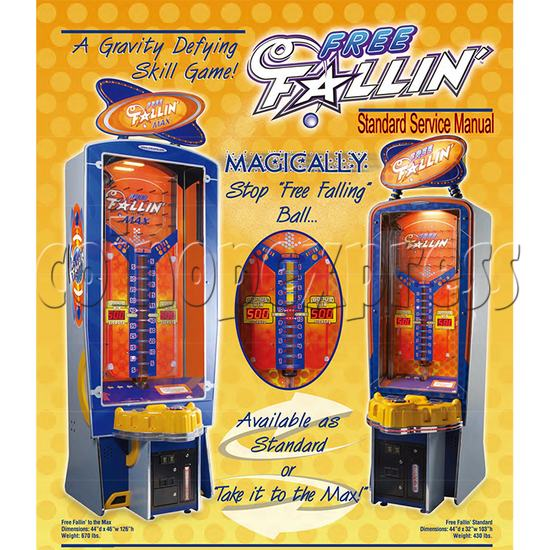 Free Fallin Ticket Redemption Machine brochure