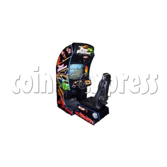 Fast and Furious Arcade Machine SD Version