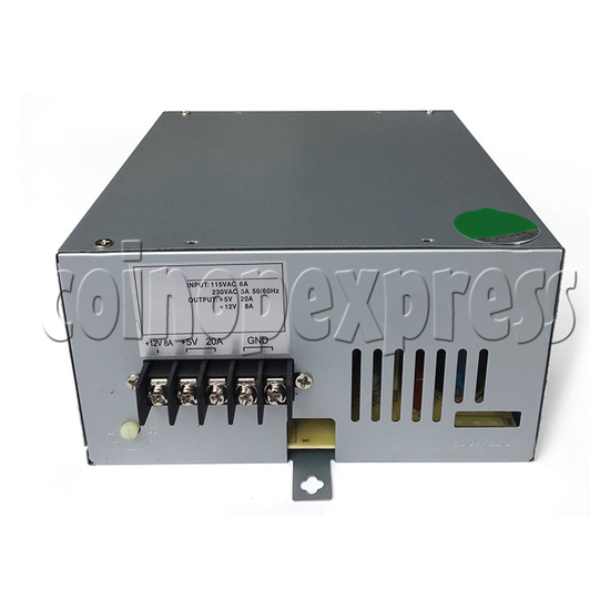 20A Power Supply for arcade machine - front view