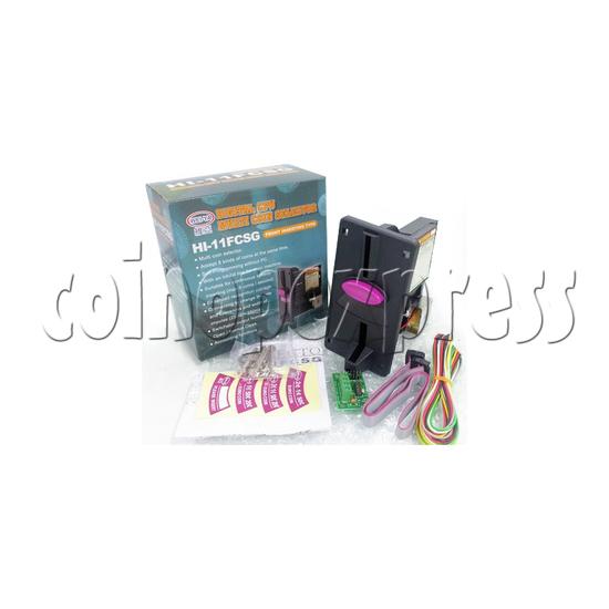 WEIYA multi coin selector HI-11FCSG full set