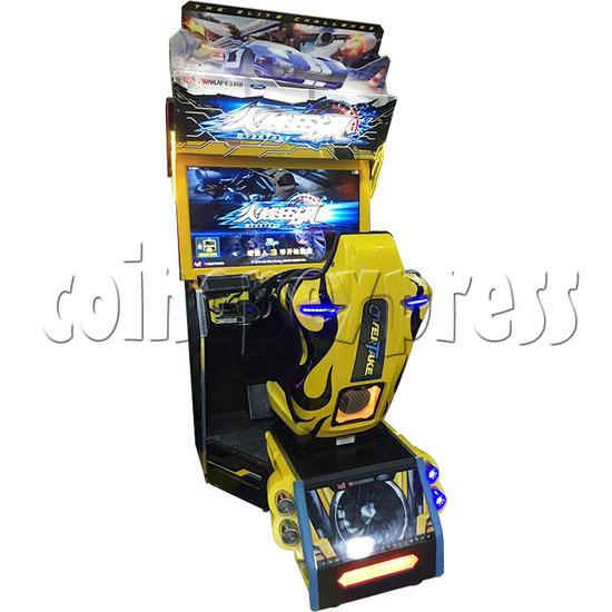 Overtake Arcade Driving Game Machine - single machine
