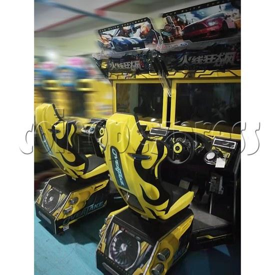 Overtake Arcade Driving Game Machine - twins machines