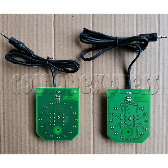 Blue LED PCB for Cymbal Pad-back view