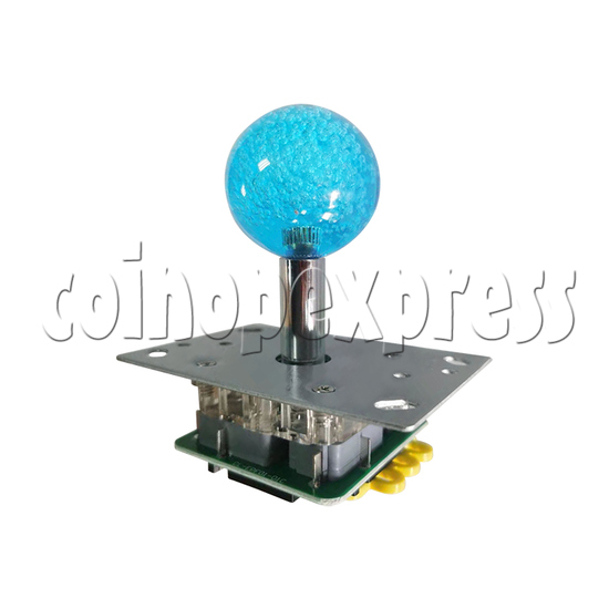 12V Illuminated Joystick for Fishing Game Machine - angle view