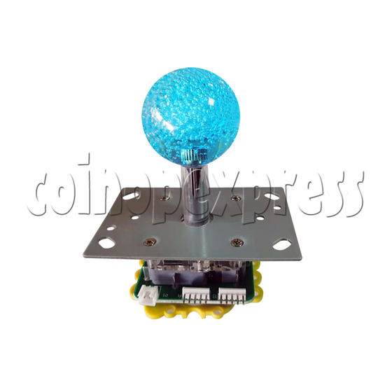 12V Illuminated Joystick for Fishing Game Machine - front view