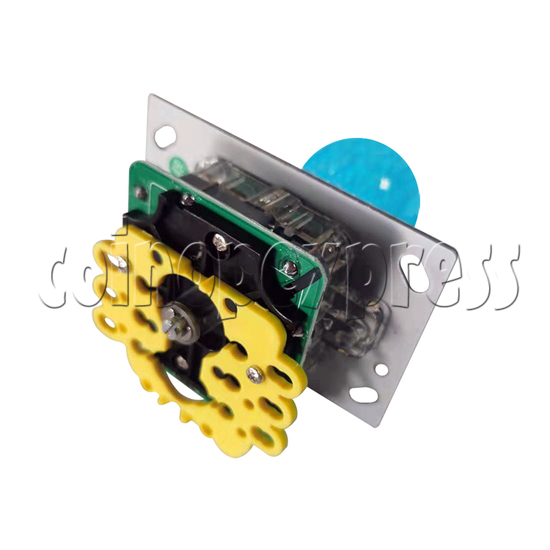 12V Illuminated Joystick for Fishing Game Machine - bottom view