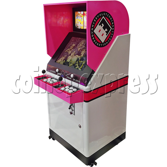 19inch Metal Candy Cabinet (pink color)