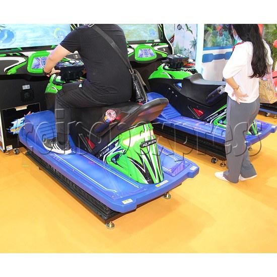 JET Blaster Racing Game Machine - motor boat