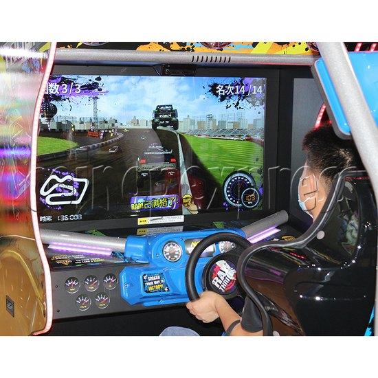 Nitro Trucks Racing Game Machine - screen
