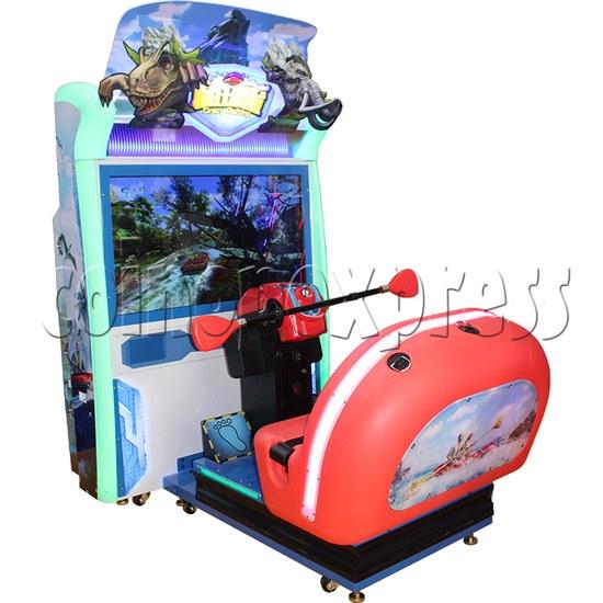 Crazy Rafting Arcade Machine left view